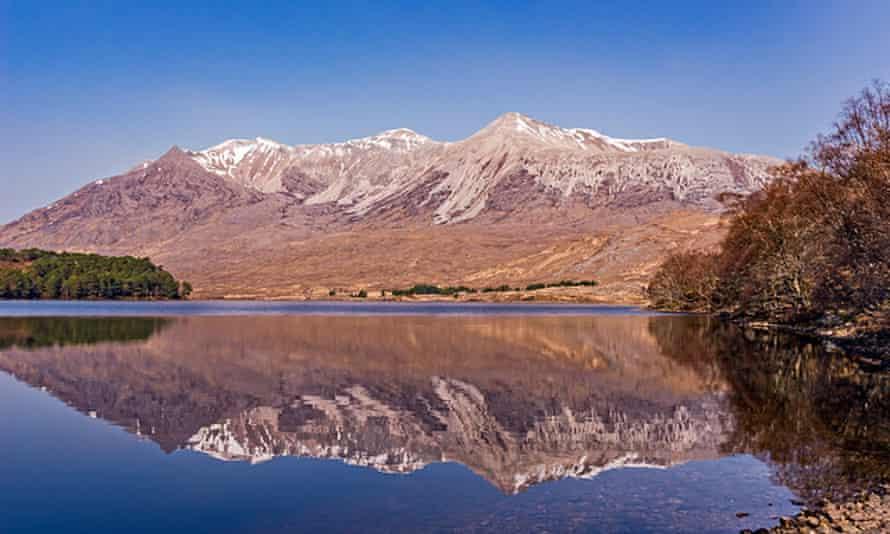 Beinn Eighe in the Scottish Highlands.
