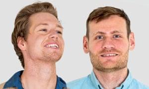 Blind Daters Jonathan (left) and Matt