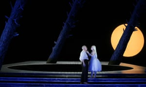 Peter Wedd and Anne Sophie Duprels in a production of Rusalka by Scottish Opera last year.
