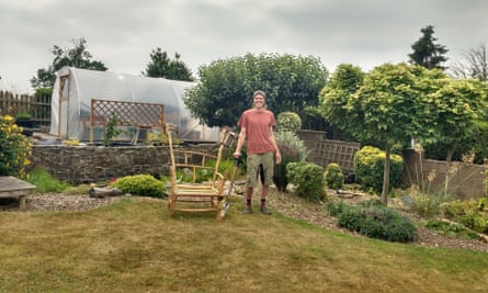 Thomas Erskine runs gardening projects for people with learning disabilities.