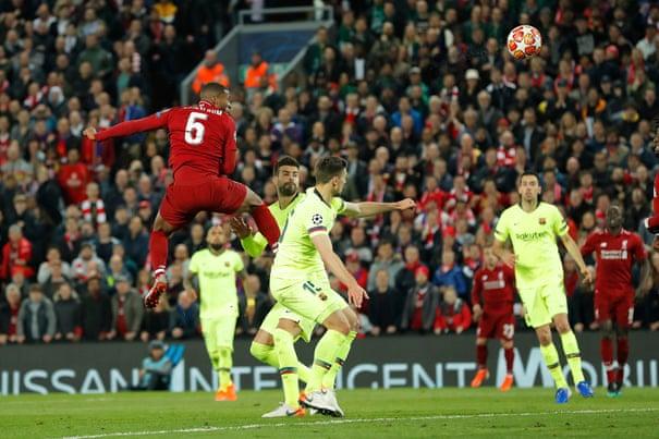 Liverpool 4-0 Barcelona (4-3 agg): Champions League semi-final – as