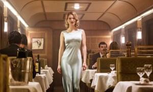 Spectral beauty: Léa as a Bond Girl in Spectre.