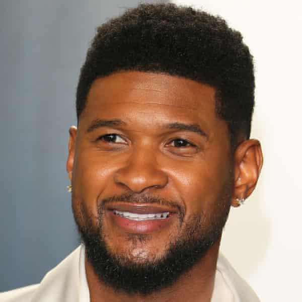 The American singer Usher