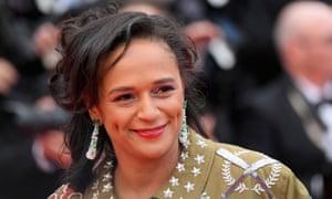 Isabel dos Santos at Cannes film festival