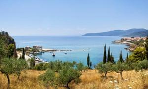 Fishing village of Kardamyli, Peloponnese, Greece.