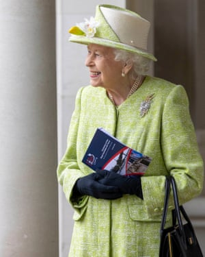 Runnymede, UKQueen Elizabeth visits the CWGC Air Forces Memorial in Surrey during her first engagement of the year