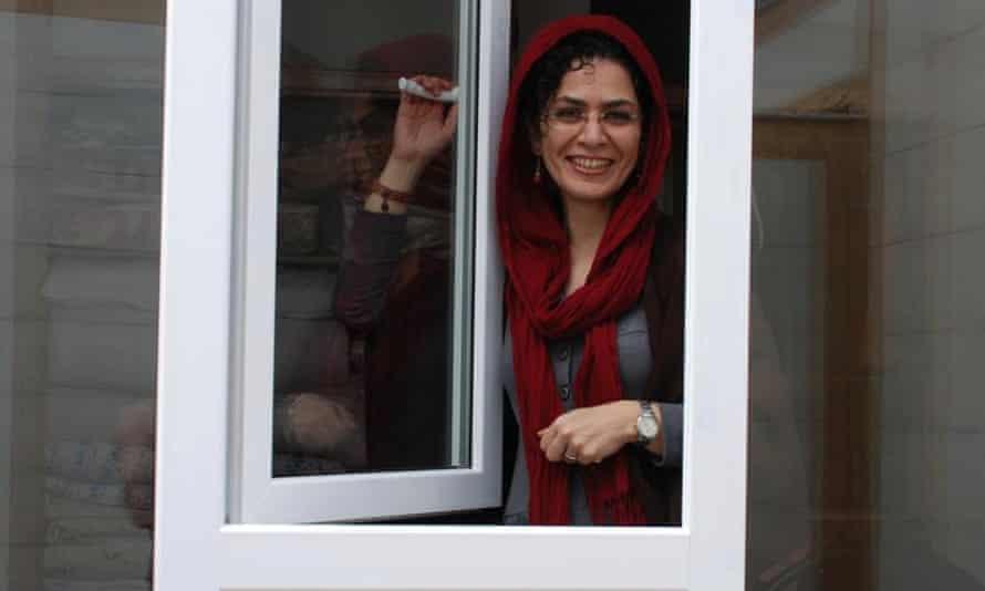 Jailed student activist Bahareh Hedayat.
