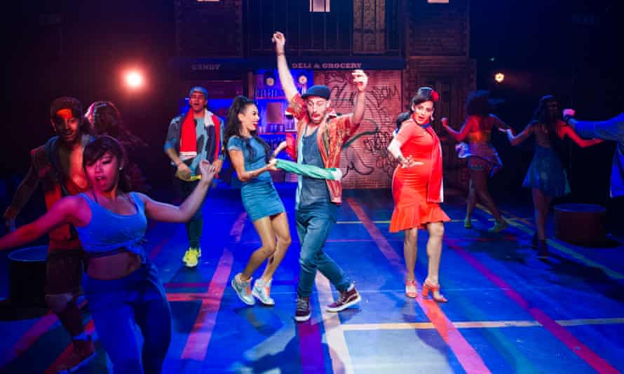 The London cast of In The Heights