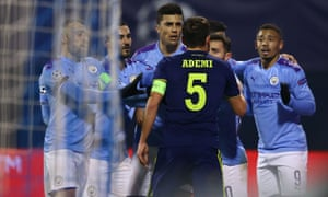 Dinamo Zagreb v Manchester City