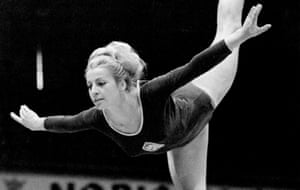 Věra Čáslavská performing in 1966. She took a discipline that had been largely dance-based and injected it with athleticism and daring.
