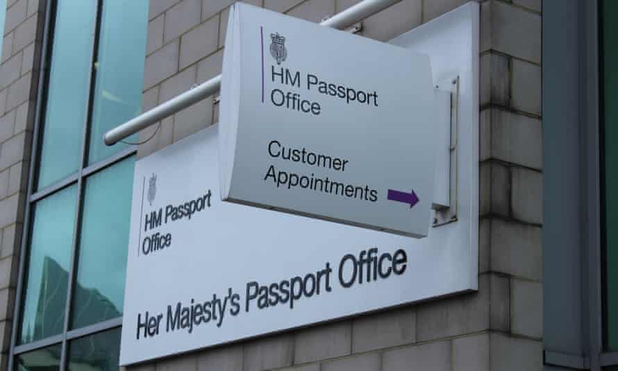 HM Passport Office in Victoria, London