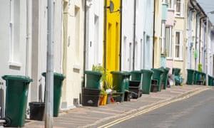 bins in Brighton