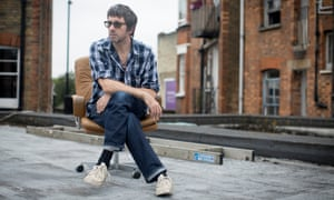 'I'm in a good mood when I'm in the studio' … Graham Coxon at Konk Studios, discussing his soundtrack for The End of the F***ing World.