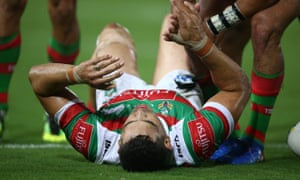 Rabbitohs Defend Call To Keep Inglis On Pitch Despite Serious Injury Sport The Guardian