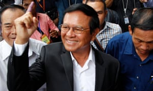 Kem Sokha, leader of the Cambodia National Rescue party, could face up to 30 years in prison if convicted.