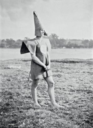 Angus McBean Cecil Watt Paul Jones (Old Mole) as Gleemaster, 1928