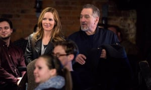 Don't call him Eddie: Leslie Mann and Robert De niro in The Comedian