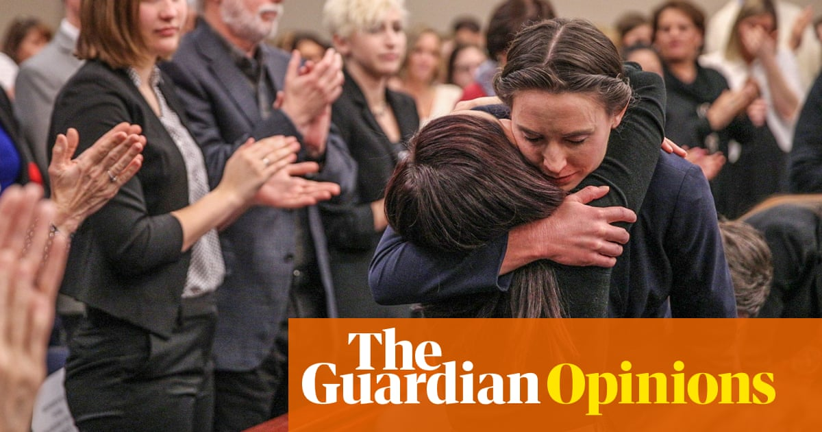 I was abused by Larry Nassar. I had to admit the damage and face it | Rachael Denhollander