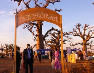 The 18th Dakar fashion week was held last weekend in a baobab forest due to the Covid pandemic