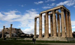 The archaeological site of the sanctuary of Olympian Zeus in Athens, Greece, 08 March 2015.
