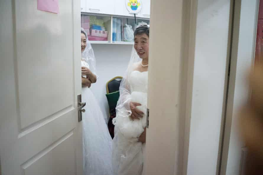 Frame the Vow arranged wedding shoots for couples who were denied them before China's cultural revolution