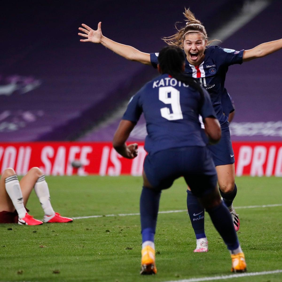 Arsenal 1 2 Psg Women S Champions League Quarter Final As It Happened Football The Guardian
