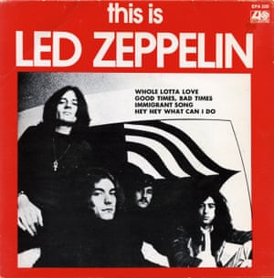 This is Led Zeppelin, Atlantic. 1970, Australia