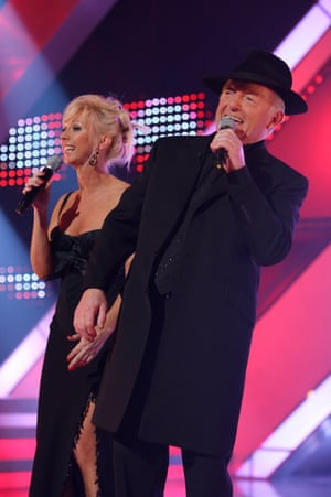 With wife Debbie on X Factor, Battle of the Stars 2006