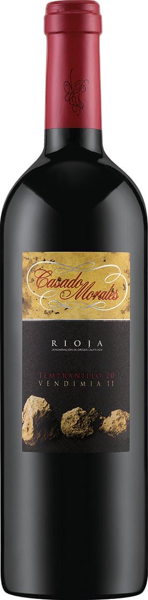 Rioja Tempranillo Vendimia Casado Morales 2011.