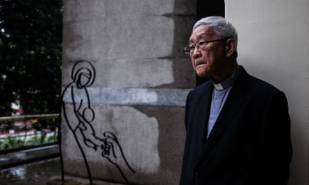 Cardinal Joseph Zen, a former bishop of Hong Kong who has said a potential rapprochement between the Vatican and Beijing would be 'betraying Jesus Christ'.