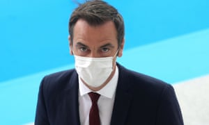 French health minister Olivier Véran
