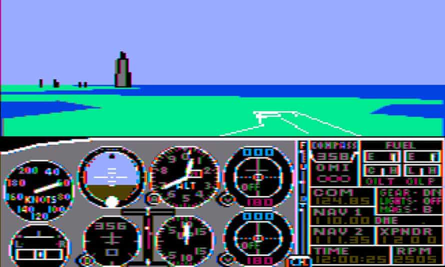 Microsoft Flight Simulator ... responsible for a generation of control inverters?