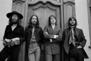 'This marriage had come to an end – and boy did it show' … the Beatles' last photo session, in August 1969.