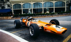Bruce McLaren at the 1969 Monaco Grand Prix.