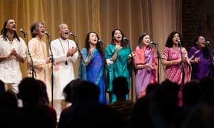 the Sai Anantam Ashram Singers perform the music of Alice Coltrane Turiyasangitananda at LSO St Luke's, London.