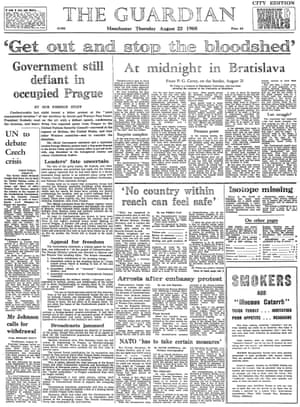 The Guardian, 22 August 1968.