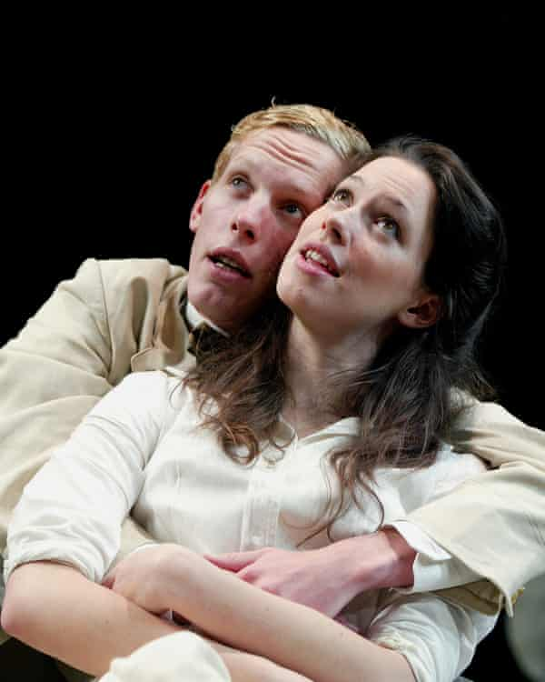 Laurence Fox and Rebecca Hall in Mrs Warren's Profession in 2002.