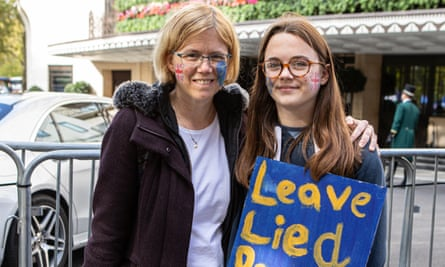 Claudia Cabban, 46 and her daughter Maya, 13. Now 'an informed choice' can be made.