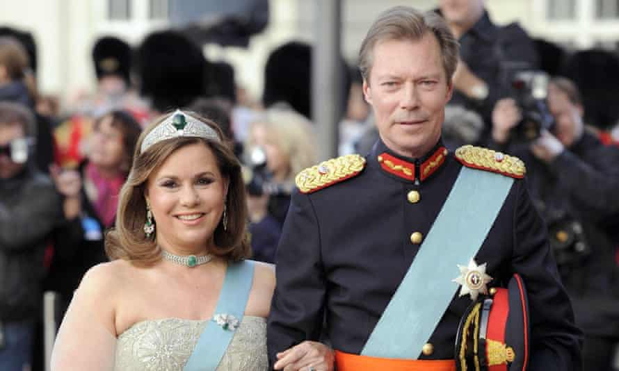 Henri, Grand Duke of Luxembourg, and his wife, Maria Teresa.