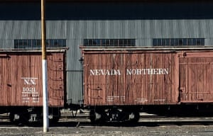 Nevada Northern railcars, Ely, NV Photograph: fastfreddiefritz/GuardianWitness
