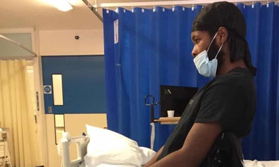 Jordan Walker-Brown was shot with a Taser in May last year.