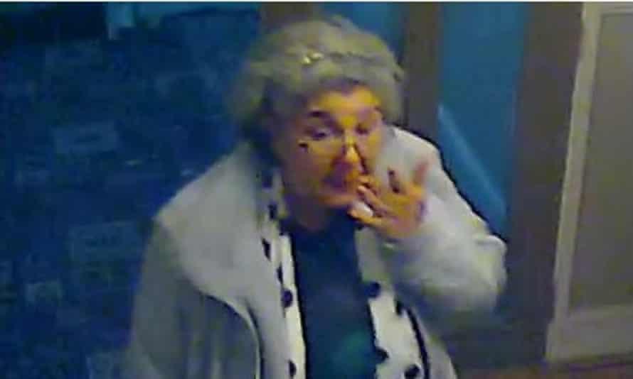 Lulu Lakatos seen on CCTV