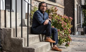 David Olusoga on Ravensworth Terrace, Newcastle.