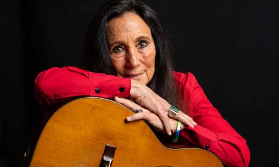Julie Felix in 2018.