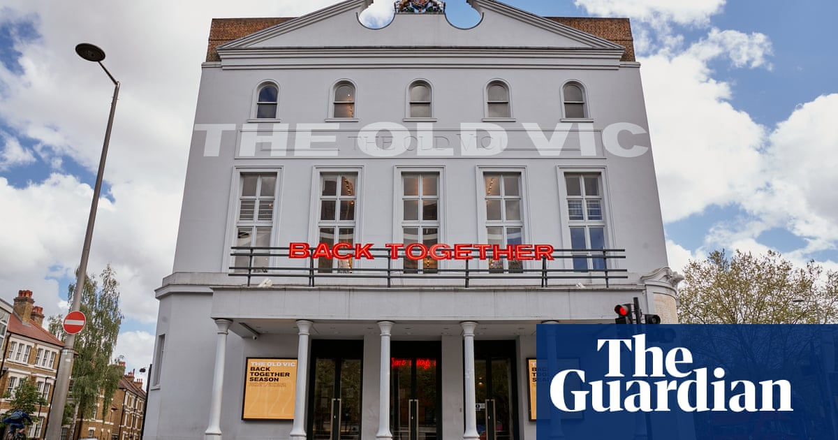 Old Vic theatre plans 'supremely informal' welcome back for audiences