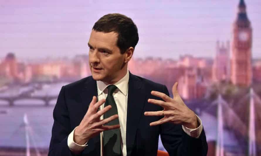 George Osborne on Andrew Marr show