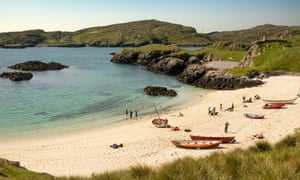 Loch Ròg on the island of Lewis in the Outer Hebrides