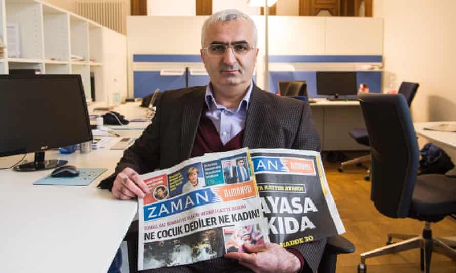 Editor of Zaman's German edition, Suleyman Bag