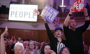 People's Vote rally