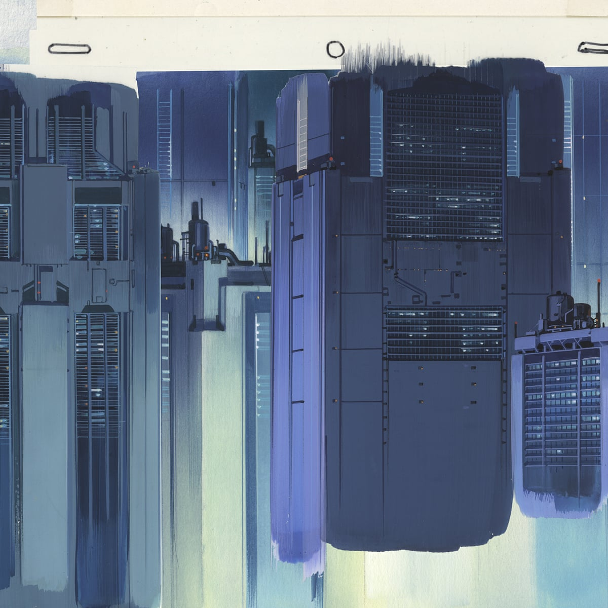 Ghost In The Shell S Urban Dreamscapes Behind The Moody Art Of The Anime Classic Ghost In The Shell The Guardian